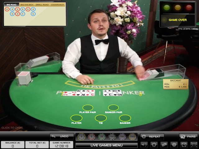 Live Baccarat Dealer Online South Africa