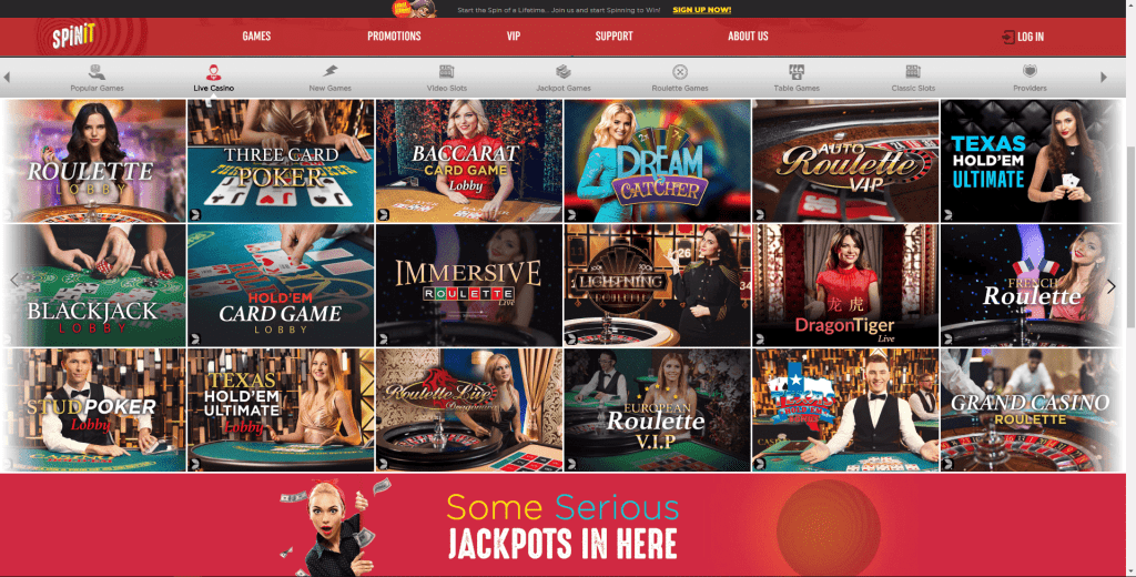 Spinit Casino South Africa