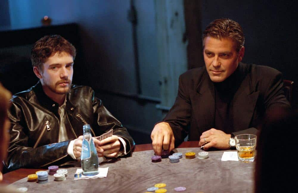 george clooney in the movie ocean's eleven